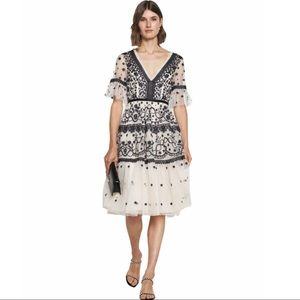 Needle and Thread Midsummer lace dress